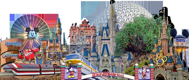 ASD's Composite Image of Disney Parks